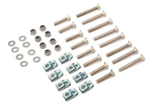 Off Road Monkeys Stainless Steel Silver Hinge Mounting Kit - 4 Door